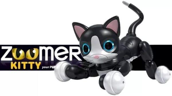 Детская робот-кошка Zoomer Kitty