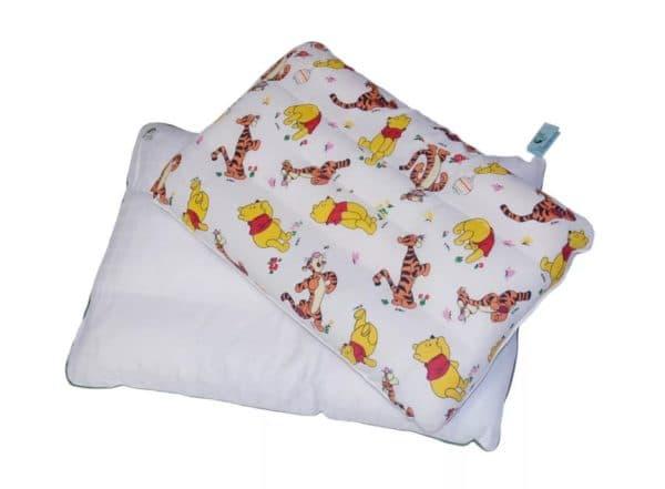Детская подушка с гречишной лузгой