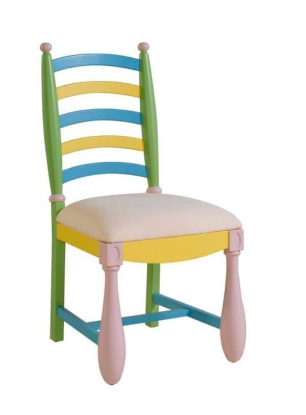 деревянный стул для ребенка школьника