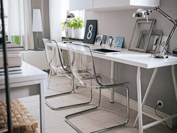 письменные столы для двух детей