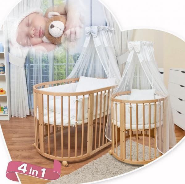 кроватка 4 в 1 для малыша