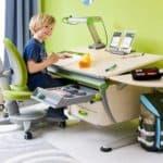 Детская парта с регулировкой высоты и стулом — выбор, влияющий на осанку и здоровье ребенка