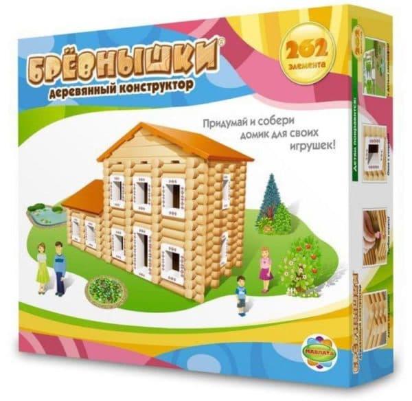 деревянный конструктор дом из бревен