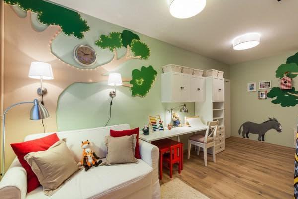 комната для ребенка в стиле Икея
