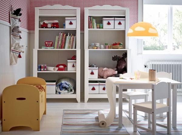 шкафы ИКЕА для девочки
