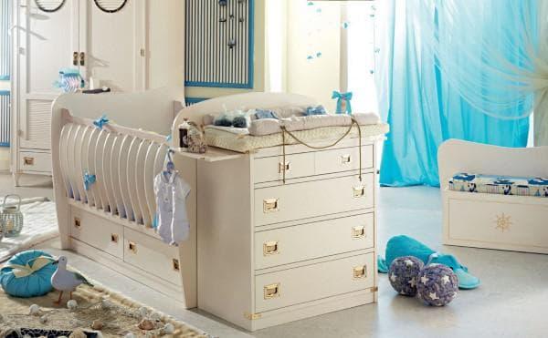 Кровать трансормер для новорожденного высшего качества