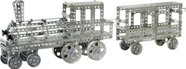Конструктор из металла поезд