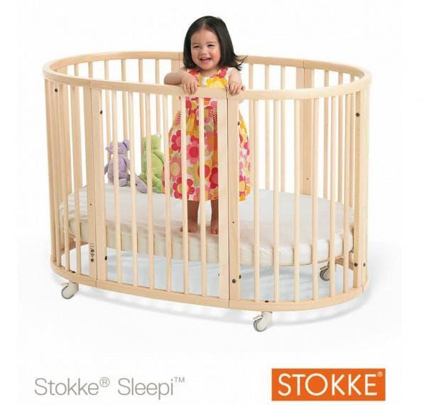 кроватка овальной формы