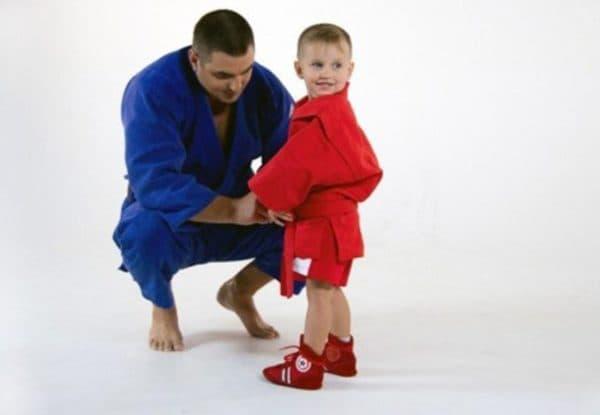 форма по самбо для ребенка