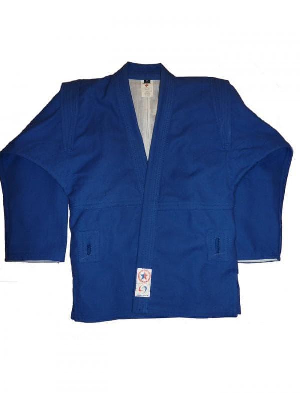 синяя куртка для самбо