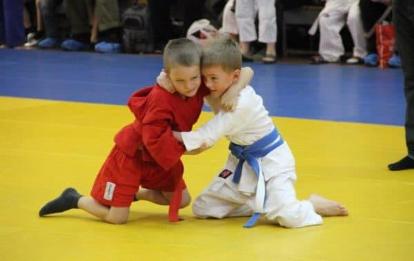 соревнования по детскому самбо