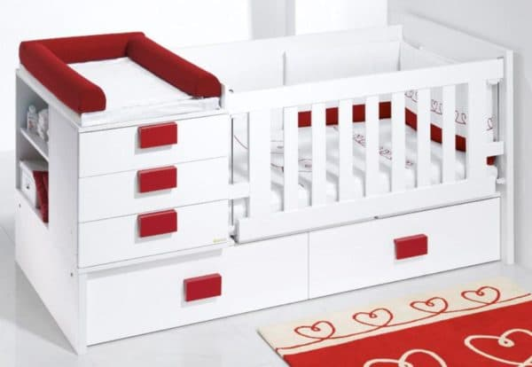 Кровать трансформер для девочки
