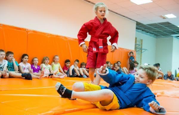 детская форма для тренировок по самбо