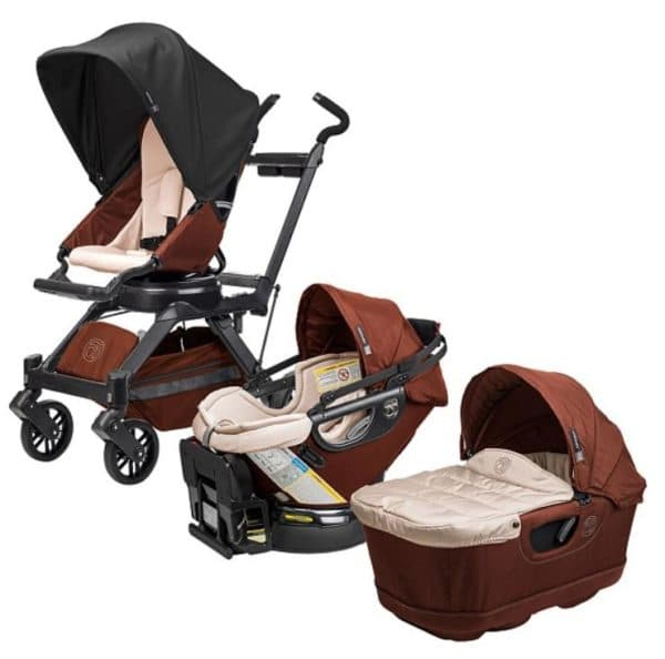 Детская коляска 3 в 1 с автокреслом для новорожденного