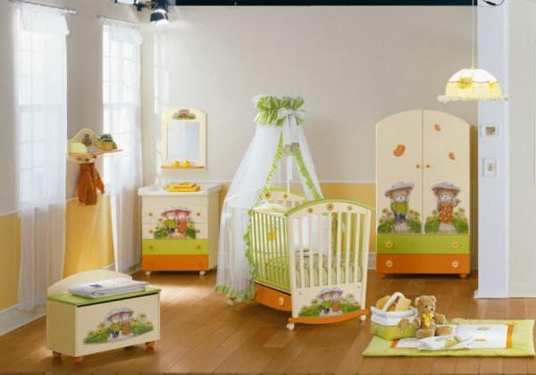 Безопасная мебель в детскую комнату