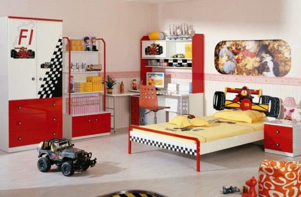 Шкафы в детскую для мальчика