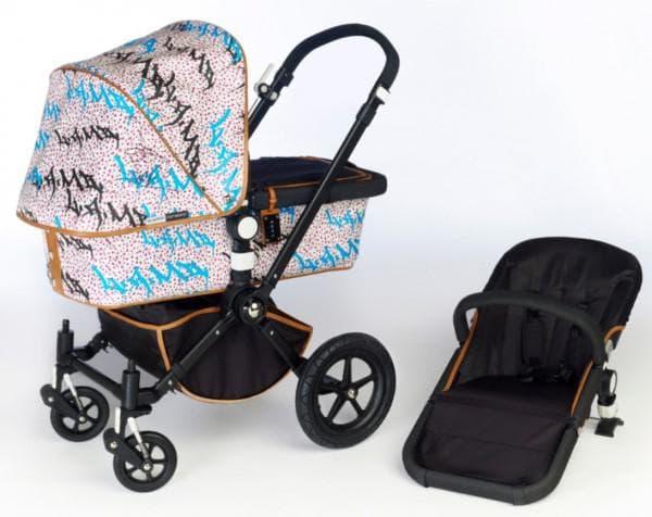 Коляска с уникальным дизайном для малыша
