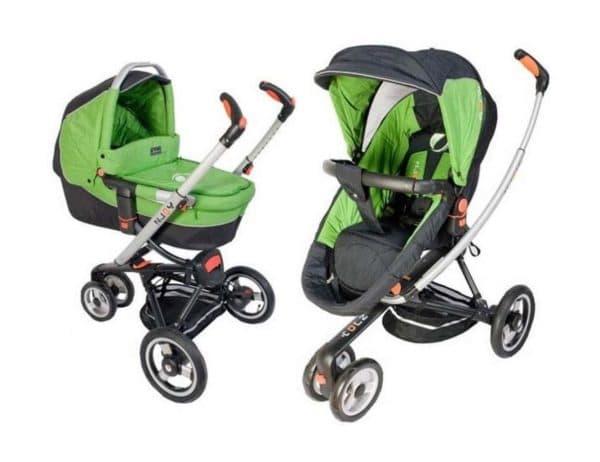 Трехколесная коляска 2 в 1 для малыша
