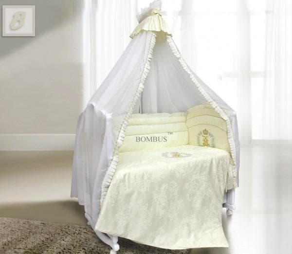 Шикарный комплект из 7 предметов для новорожденного