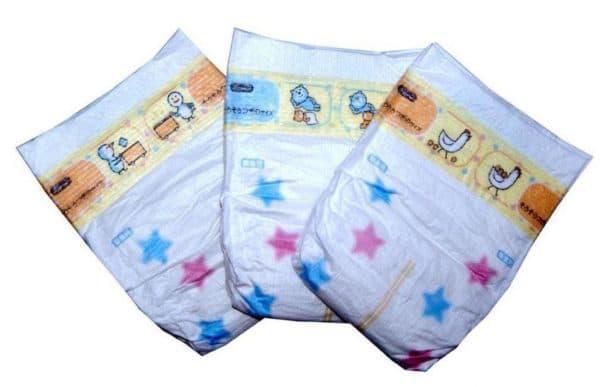 Подгузники для новорожденного с индикатором наполнения