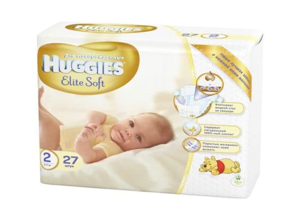 Самые мягкие подгузники для новорожденного