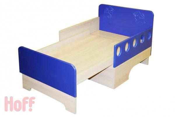 Недорогая кроватка в детскую с бортиками
