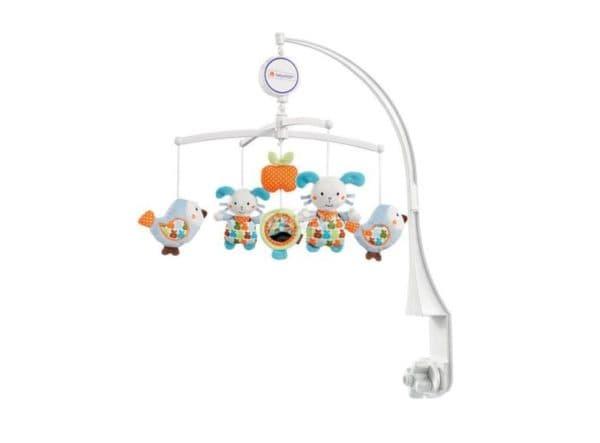 Мобиль в кроватку новорожденного механический