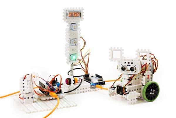 Конструктор робот из ПВХ