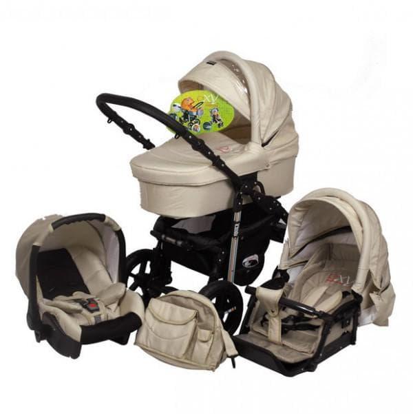 Коляска с автокреслом для новорожденного
