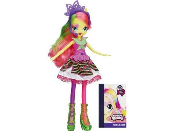 Кукла из серии Rainbow Rocks