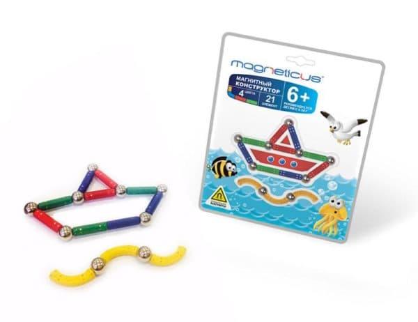Магнитный конструктор для ребенка простой