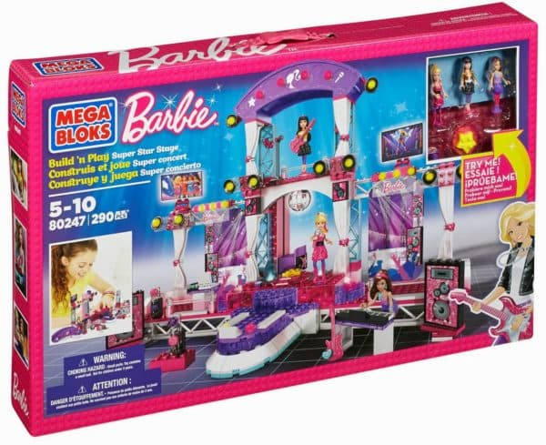 Наборы для сборки Барби от Мега Блокс