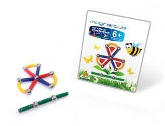 Конструкторы для детей с магнитными шариками и палочками