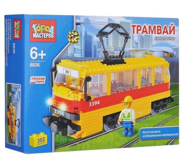 Конструктор машина типа Лего