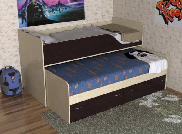 Фото двухъярусной кровати для детей от 5 лет
