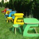 Выбираем комфортный детский стол и стул для ребенка от 1 года