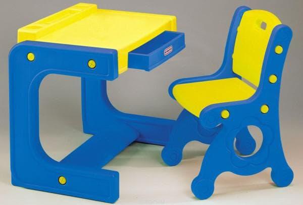 Пластиковые столы и стульчики для дошкольника