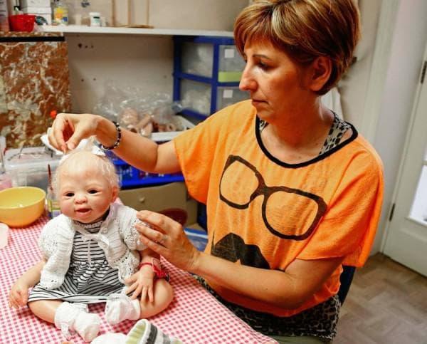 Как создаются реборны куклы