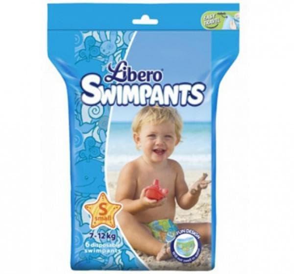 Памперсы для малыша на море