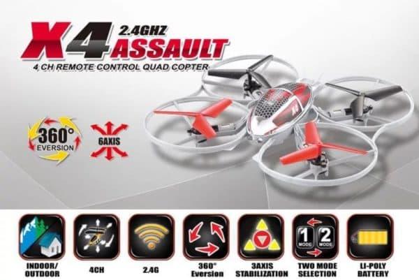 Квадрокоптер SymaX4 Assault
