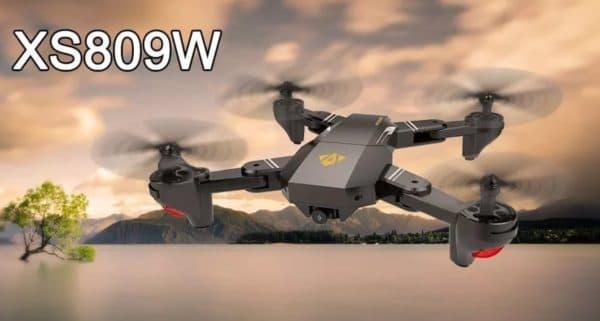 Квадрокоптер для ребёнка VISUO XS809W